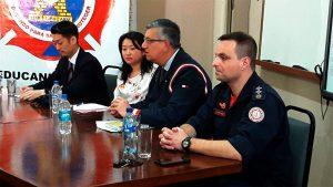 Reunião com representantes da JICA